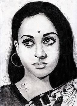 Jaya Bachchan by Ali Muhammad