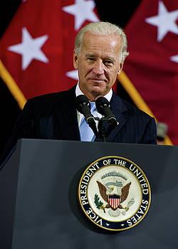 Joe Biden 1 by Lee Craker