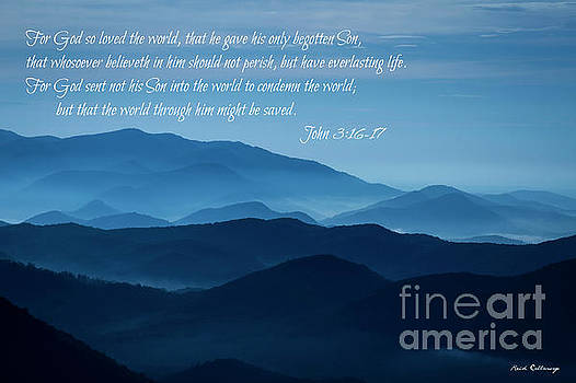 Reid Callaway - John 316 And 17 Blue Ridges Great Smoky Mountains Art