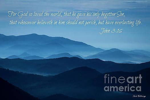 Reid Callaway - John 316 Blue Ridges Great Smoky Mountains Art