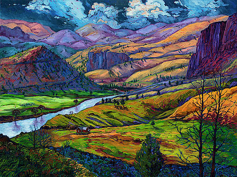 John Day River Country by Rebecca Baldwin