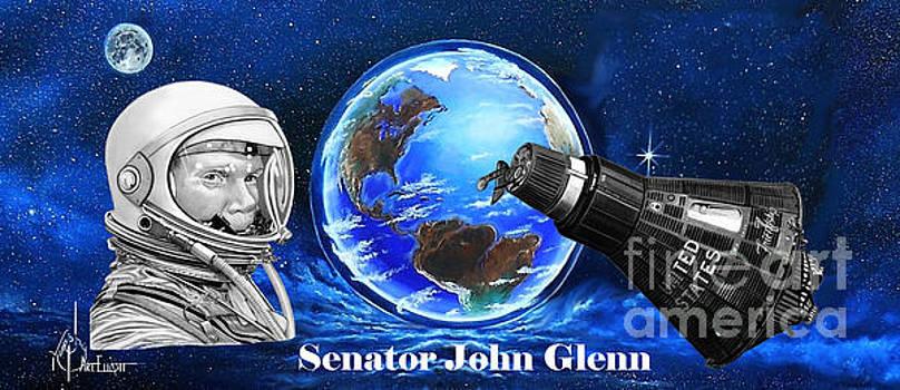 John Glenn by Murphy Elliott