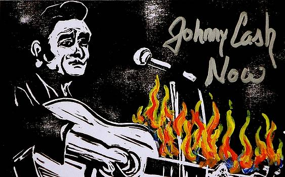 Johnny Cash Now III by Pete Maier