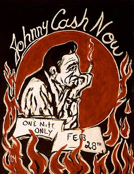 Johnny Cash Poster by Pete Maier