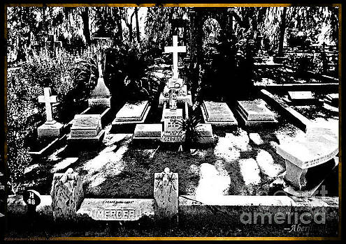 Johnny Mercer's Grave in Bonaventure Cemetery by Aberjhani