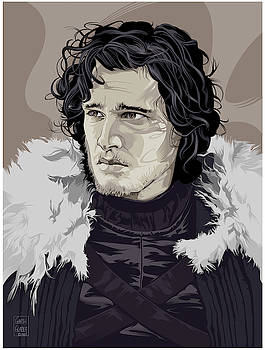 Jon Snow by Garth Glazier