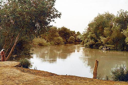 Jordan River Bank by Munir Alawi