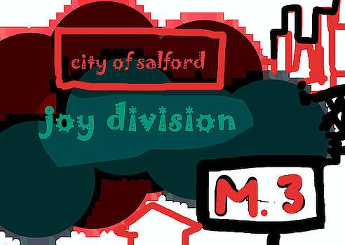 Enki Art - Joy Division M 3 poster