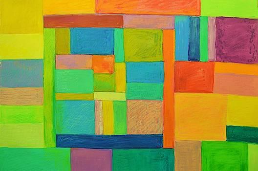 Joyful Rectangles by Aletha Kuschan