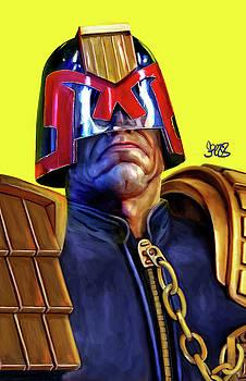 Judge Dredd by Mark Spears