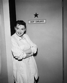 Judy Garland Stands Outside Her by Cbs Photo Archive