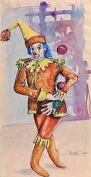 Juggling Clown by Ricardo Penalver