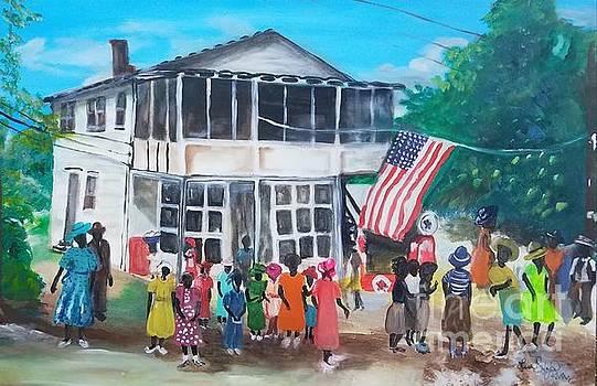 July 4, 1939 Celebration on St. Helena South Carolina by Lisa Gilyard