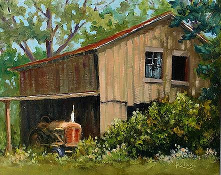 Justice Family Farm Barn by Bernie Rosage Jr