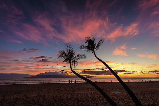 Kaanapali beach Sunset by Pierre Leclerc Photography