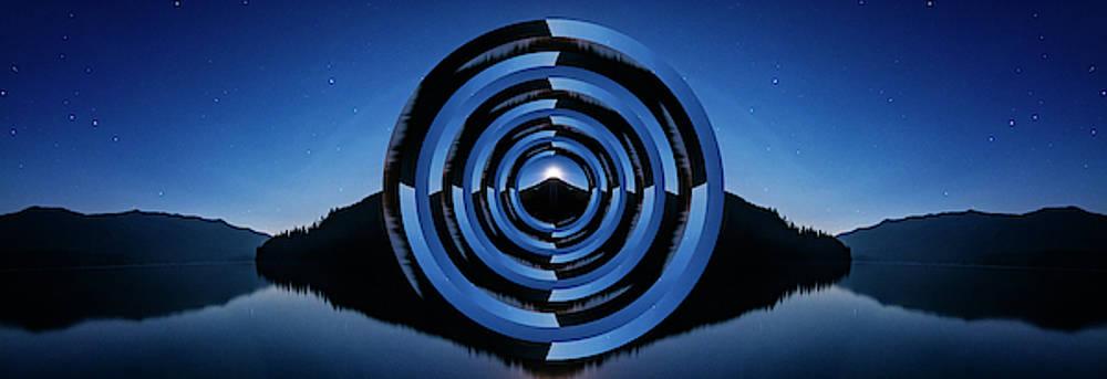 Pelo Blanco Photo - Kachess Lake Reflection Circles