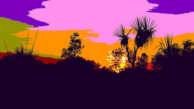 Kakadu Sunrise #3 - Pop Art by Lexa Harpell