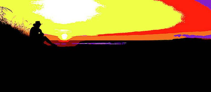 Kakadu Sunset #2 - Pop Art by Lexa Harpell