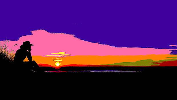 Kakadu Sunset - Pop Art by Lexa Harpell
