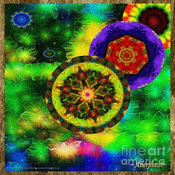 Kaleidoscope Moon for Children Gone to Soon Number - 3 Intensified  by Aberjhani