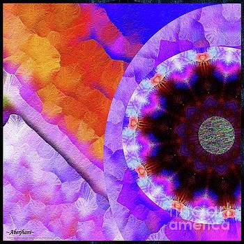 Aberjhani - Kaleidoscope Moon for Children Gone Too Soon Number - 5 Flame and Flower