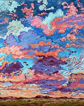 Kaleidoscope Sky by Rebecca Baldwin