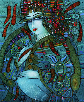 KALINA with red peppers by Albena Vatcheva