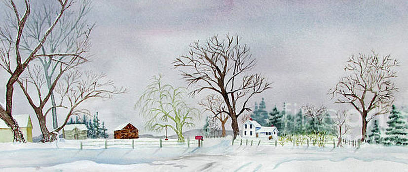 Winter on the Poet Farm by Donlyn Arbuthnot