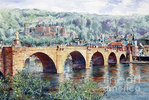 Karl Theodor Bridge, Heidelberg by Joey Agbayani