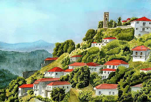Karyai village by Georgia Pistolis