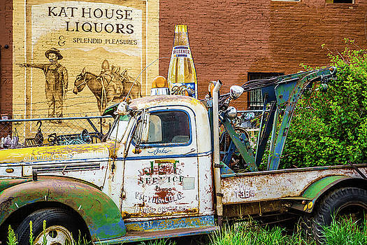 Kat House Liquor Truck by Steven Bateson