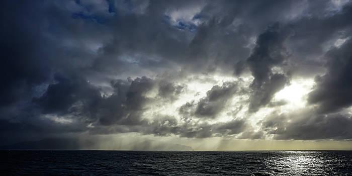 Kauai Coast in Stormy Weather by Dave Matchett