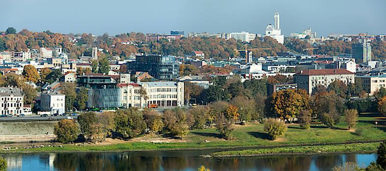 Ramunas Bruzas - Kaunas Downtown Panorama