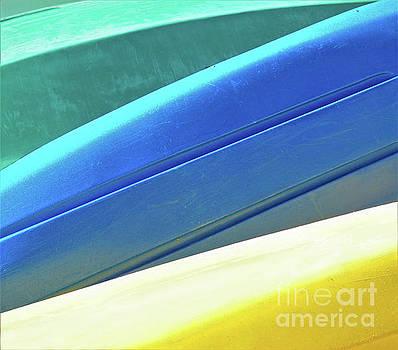 Sharon Williams Eng - Kayak Angles and Colors Abstract II