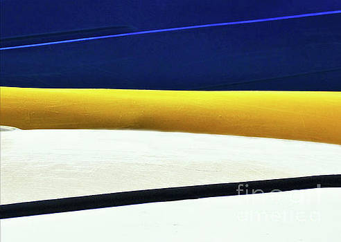 Sharon Williams Eng - Kayak Angles and Colors Abstract