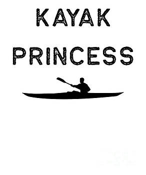 Kayak Design Kayak Princess Dark Kayaking Fishing Gift Rowing by J P