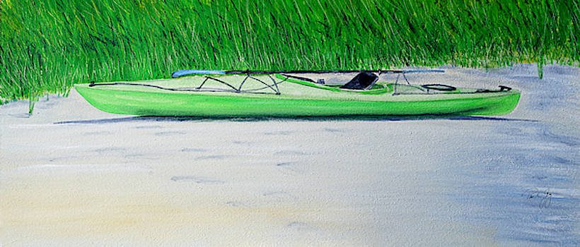Kayak Essex River by Paul Gaj