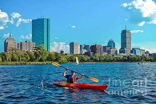 Kayaking on the Charles by SoxyGal Photography
