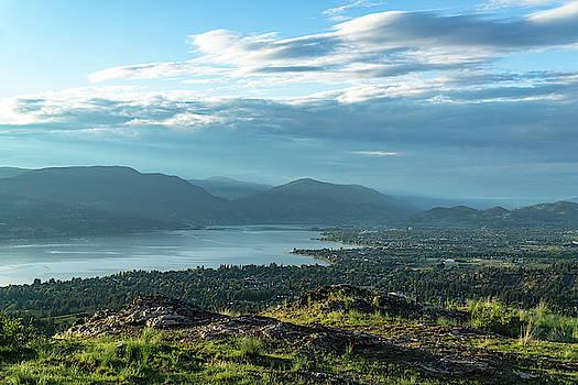 Kelowna from Kuipers Peak by Dave Matchett