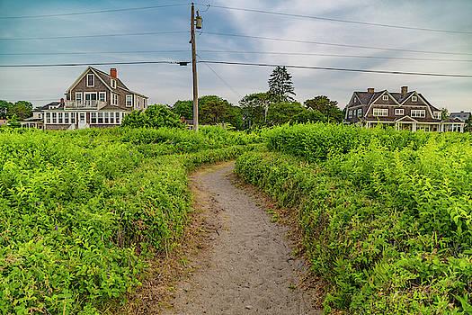 Kennebunkport Coastal Pathway by Betsy Knapp