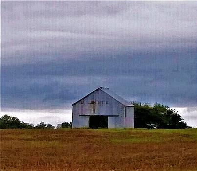 Kentucky Barn by Peggy Leyva Conley