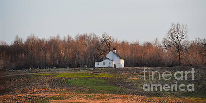 Kentucky Church at Early Morning by Catherine Sherman