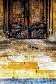 Keys Laying by Old Doors by Jill Battaglia