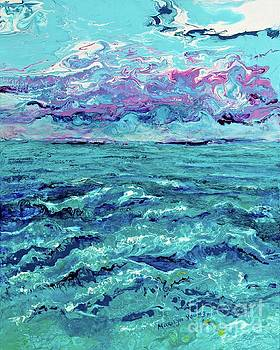 Keys Seascape by Marilyn Young