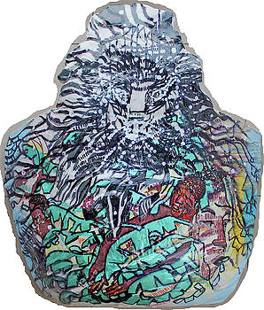 Kikapu Sculpture Kintu and Nambi Kintus Tasks by Gloria Ssali