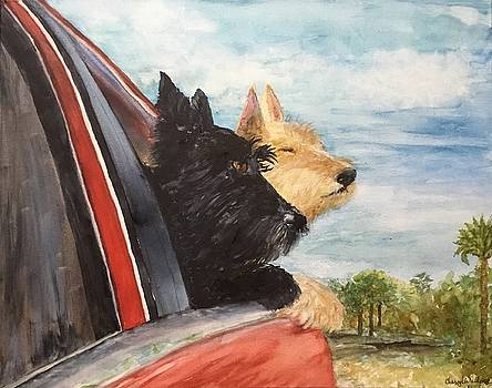 Kiltie and Maggie Take a Ride by Cheryl Wallace