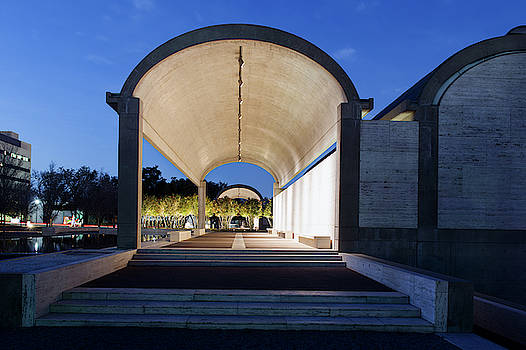 Kimbell Art Museum Fort Worth 032919 by Rospotte Photography