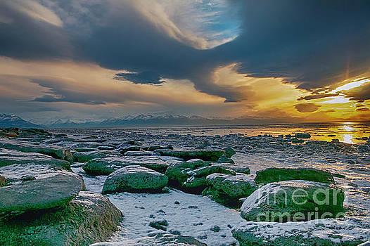 Kincaid Beach Sunset by Bernita Boyse