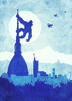 Andrea Gatti - King Kong Turin blue