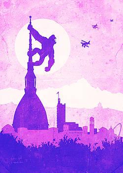 Andrea Gatti - King Kong Turin purple